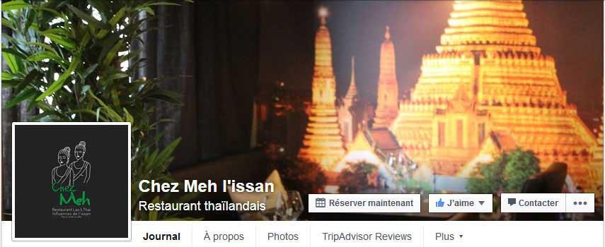 Chez Meh facebook